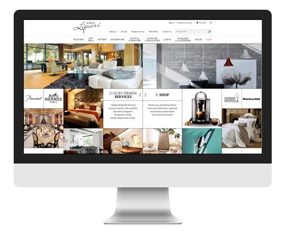 PY网站工作室 - PY Workshop案例-家居商务平台