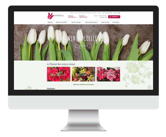 PY网站工作室 - PY Workshop案例-网上花店