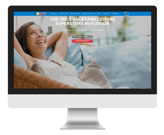 PY网站工作室 - PY Workshop案例-休闲商务平台