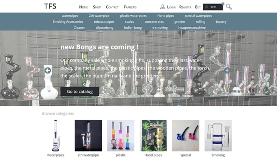 PY网站工作室 - PY Workshop案例-商务平台